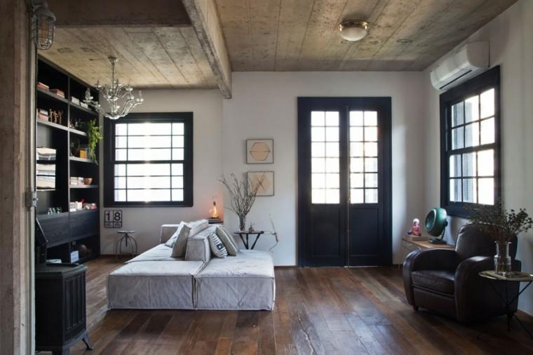 ideas decoracion interiores salones apartamento pequeno moderno