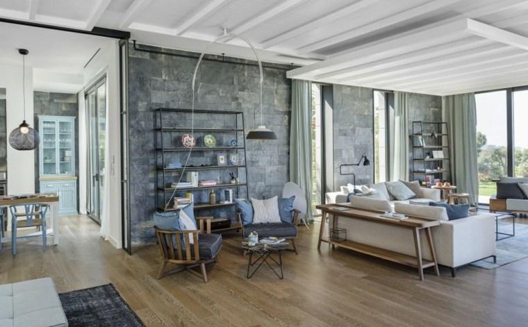 ideas decoracion interiores salones dos espacios descanso ofist moderno