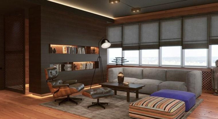 ideas decoracion interiores salones loft estores modernos
