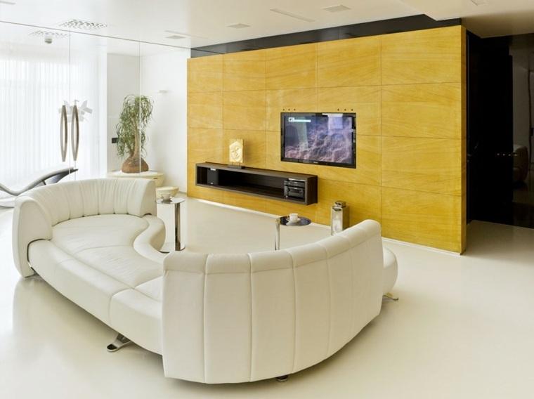 decoracion interiores salones sofas originales ideas