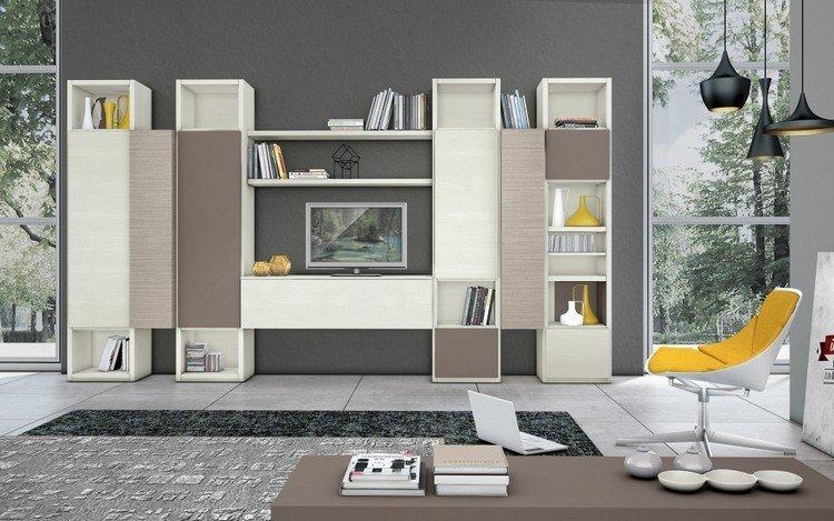 ideas decorado amarillo masivo muebles grises