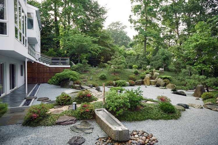 Jardines japoneses modernos 25 ideas de paisajismo for Jardines pequenos originales