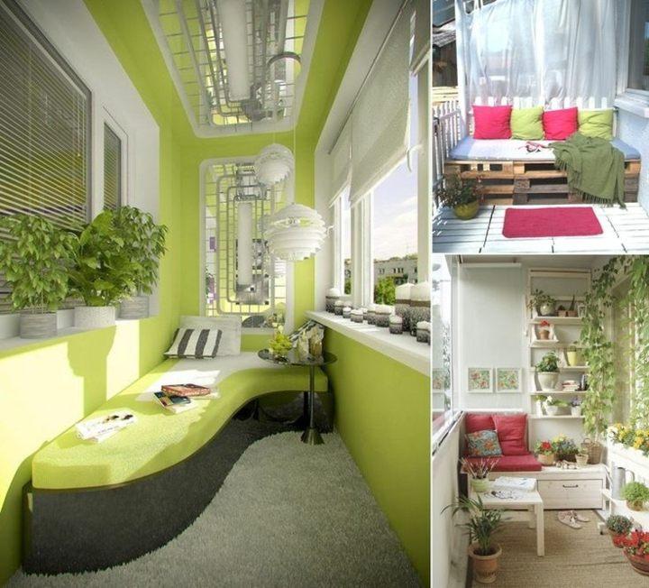 original ideas decorating terraces