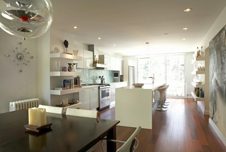 ideas para cocinas apartamentos abiertos ideas
