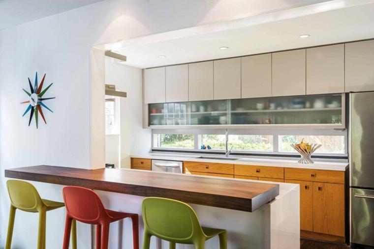Ideas para cocinas modernas que te sorprender n for Ideas para barras de cocina