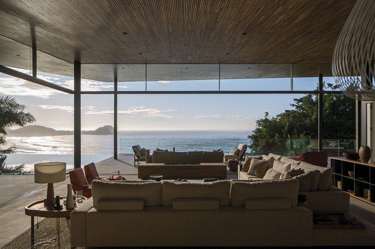 imagenes salones muebles modernos vistas ideas