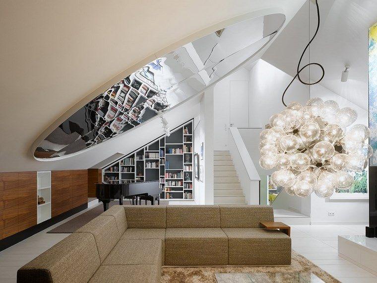 imagenes salones opciones decorar techo ideas