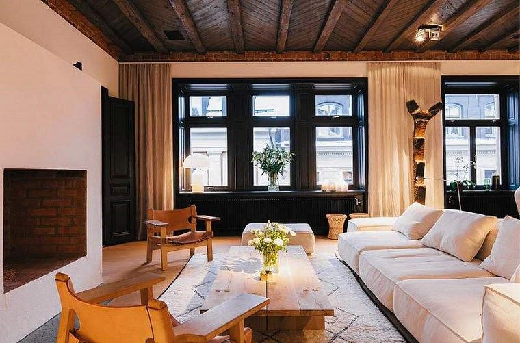 imagenes salones sillas mesa madera natural ideas