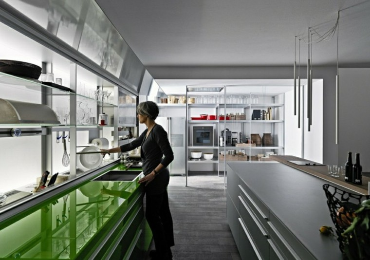 innovación cocina amplia moderna bonita ideas