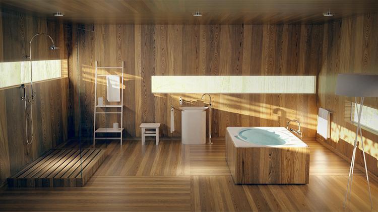 intenso madera lamparas casas orientaciones led