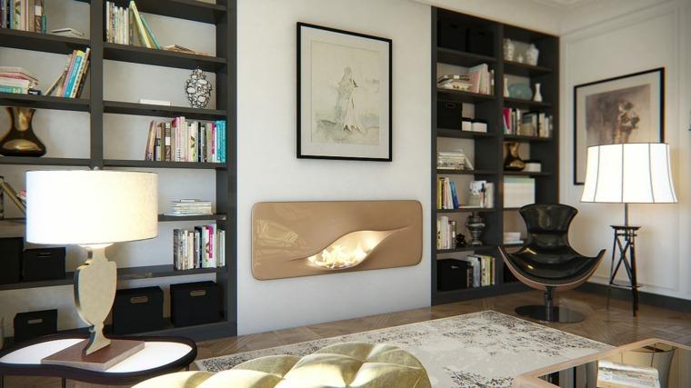 interior moderno sala de estar