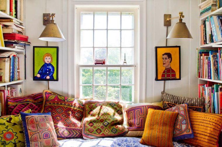 Decoracion de interiores de estilo boho chic   38 diseños.