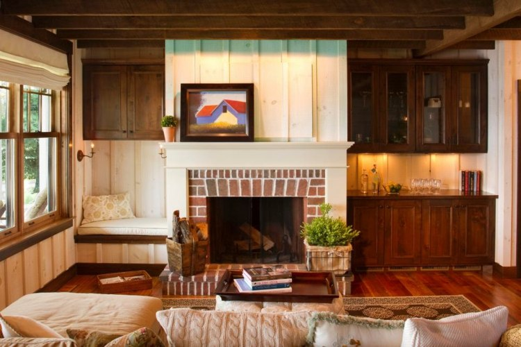 interiores casas de campo soluciones calida ladrillos