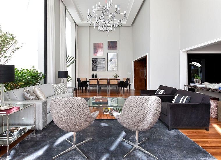 interiores elegantes opciones diseno salon ideas