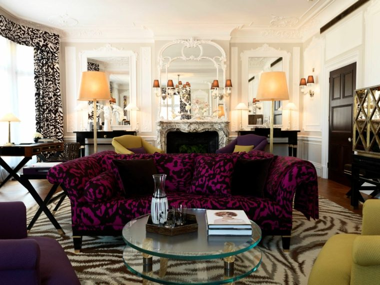 interiores lujosos estilo Boho