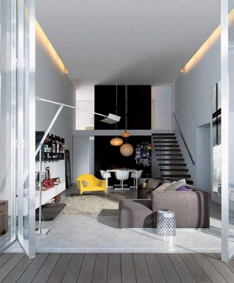 Decoracion apartamentos peque os cincuenta ideas for Como decorar un departamento moderno