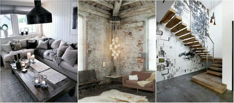 interiores deco modernos diseño industrial