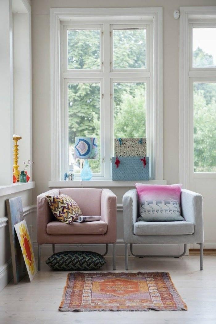 invierno decoracion salones estilos colorido colores