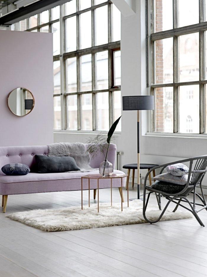 invierno decoracion salones estilos vintage rosa cristales