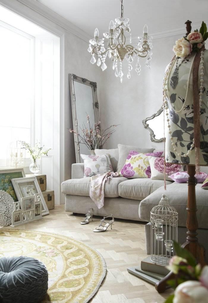 invierno decoracion salones estilos vintage jaulas