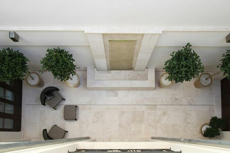 jardin pequeno interior planta macetas ideas