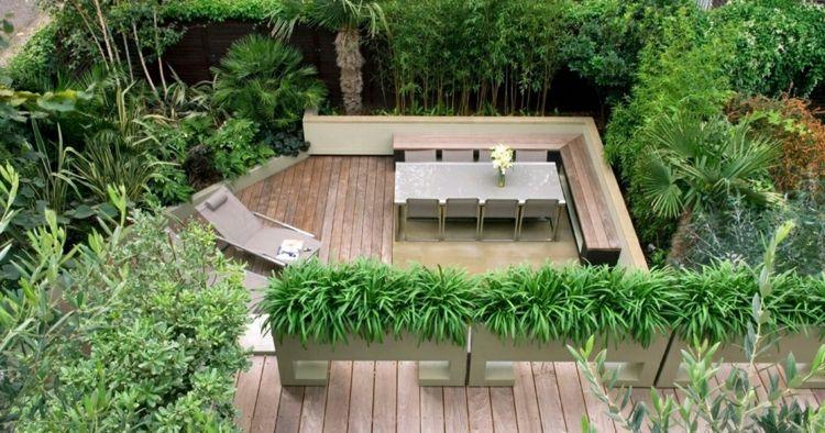 jardineras para terrazas rampas paredes soleadoras