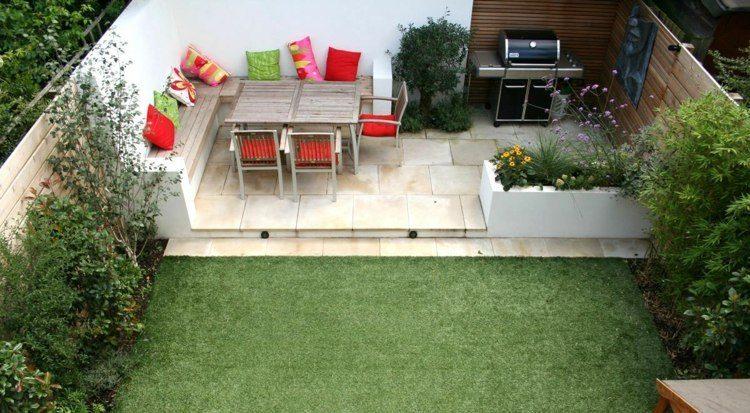 jardines casas tendencias diseños hogueras