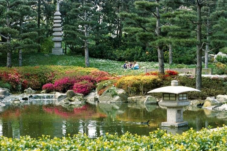 jardines japoneses modernos 25 ideas de paisajismo. Black Bedroom Furniture Sets. Home Design Ideas