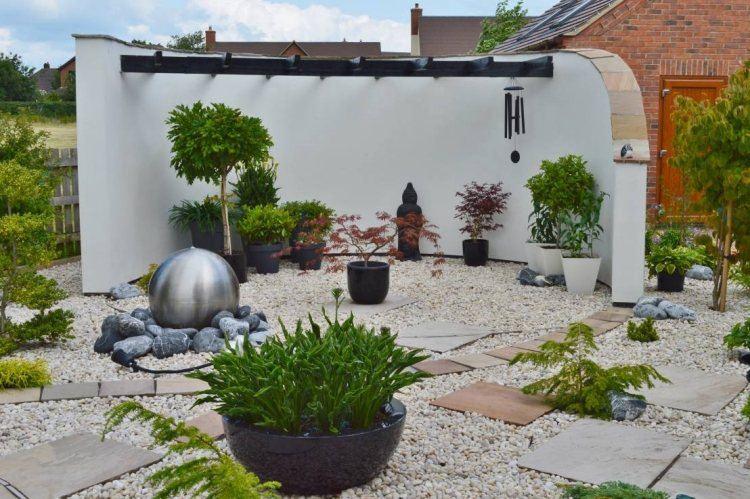 jardines tendencias conocidas nuevas gravas bolas