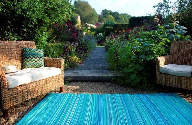 jardines tendencias conocidas nuevas lineas azules