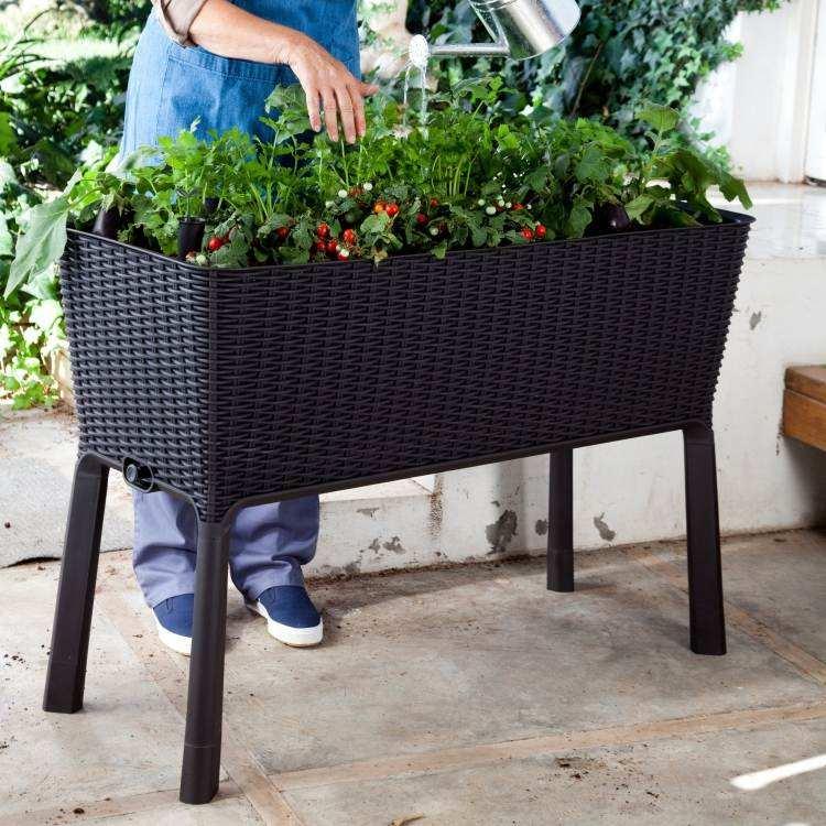 jardines tendencias materiales nuevos jardinera