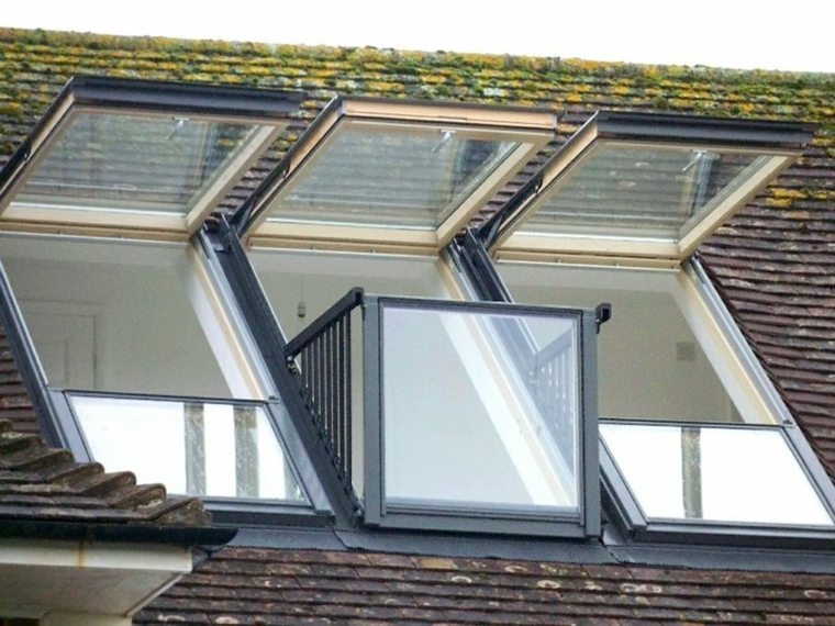 la ventana techo casa grande bonito ideas