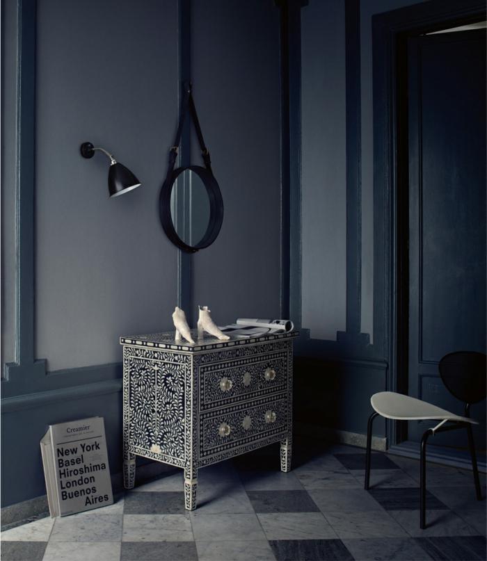 lamaparas techos decoracion soluciones espejos grises