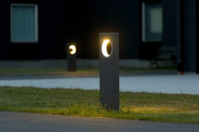 Lámparas e iluminación original para el aire libre -