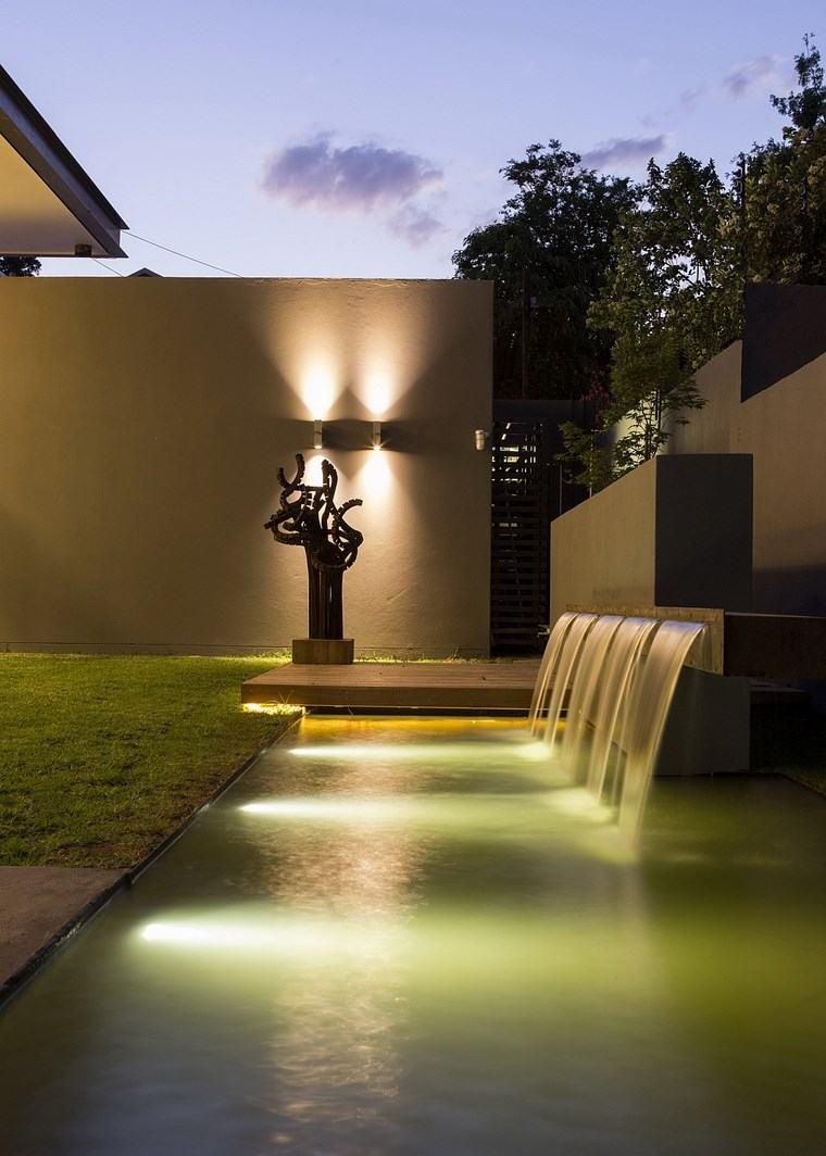 lamapras iluminacion exterior fuente preciosa ideas