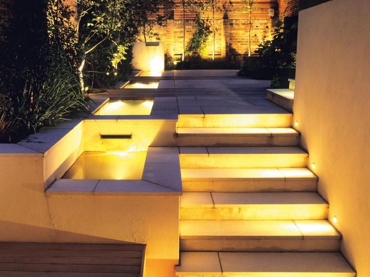 lamapras iluminacion exterior opciones escaleras ideas