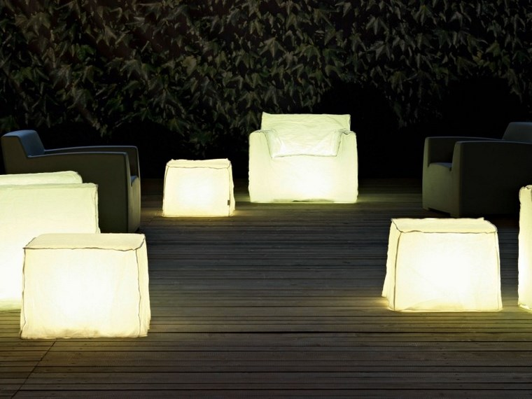 lamapras iluminacion exterior taburetes sillones ideas