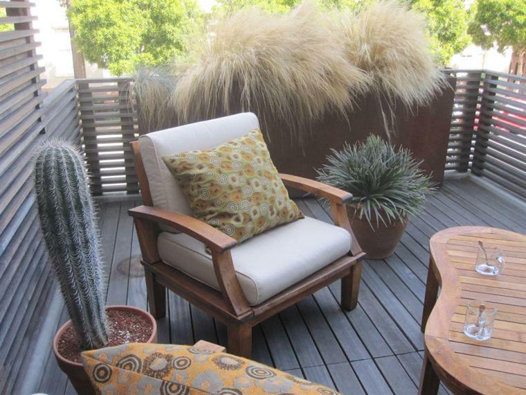las plantas perfectas balcon hierbas sillones ideas
