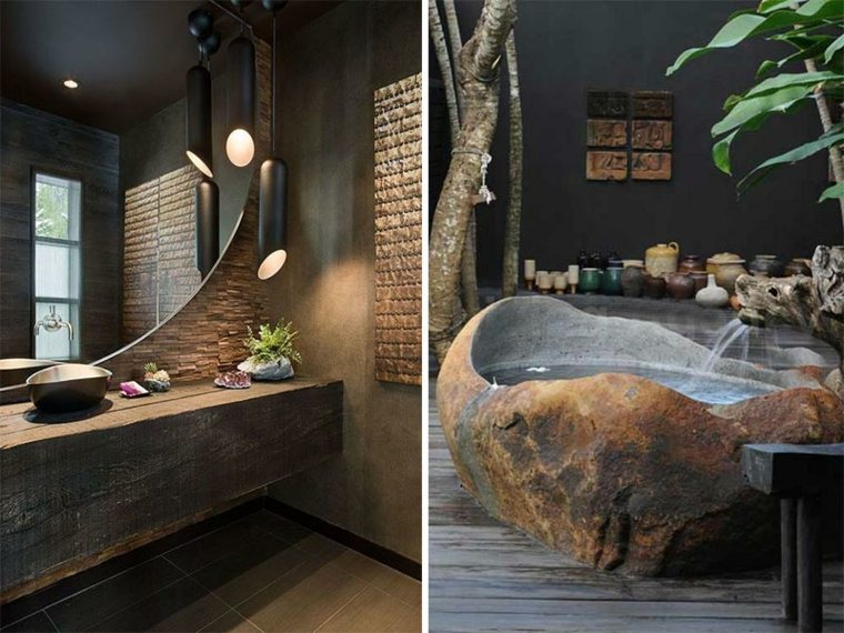 lavabo rustico bano original inspiradores disenos ideas