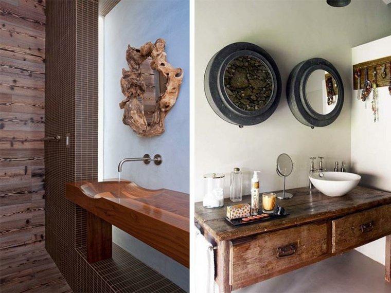 Baño Rustico Moderno:lavabos-rusticos-banos-diseno-moderno1jpg