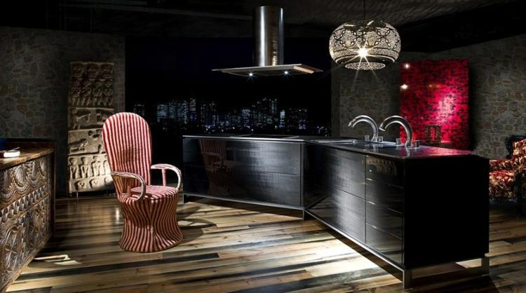 los colores cocinas diseños lamparas ideas rosas