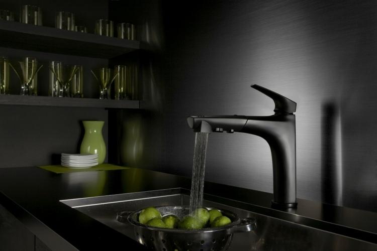 los colores cocinas diseños lamparas sistemas verdes