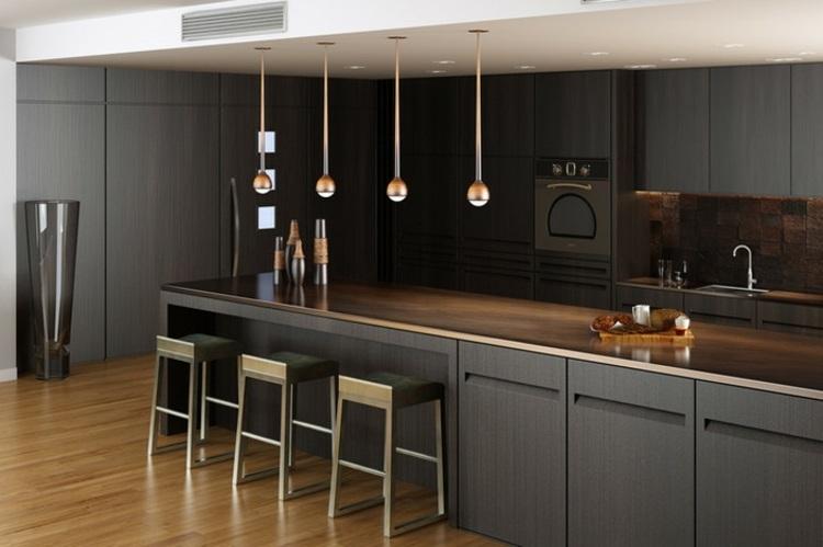 los colores cocinas taburetes ideas lamparas