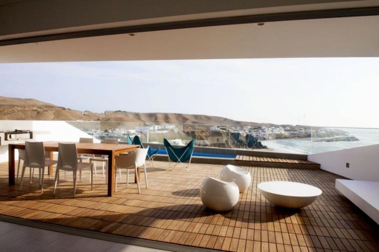 lugar comidas terraza amplia moderna ideas