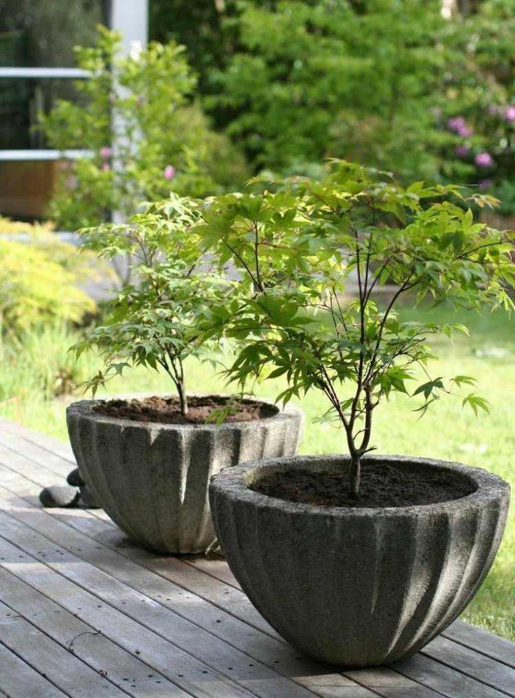 Tendencias en el dise o de exteriores obasaurbana for Macetas plantas exterior