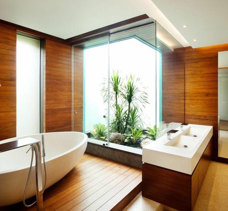 madera diseño estilos modernos creativo jardines