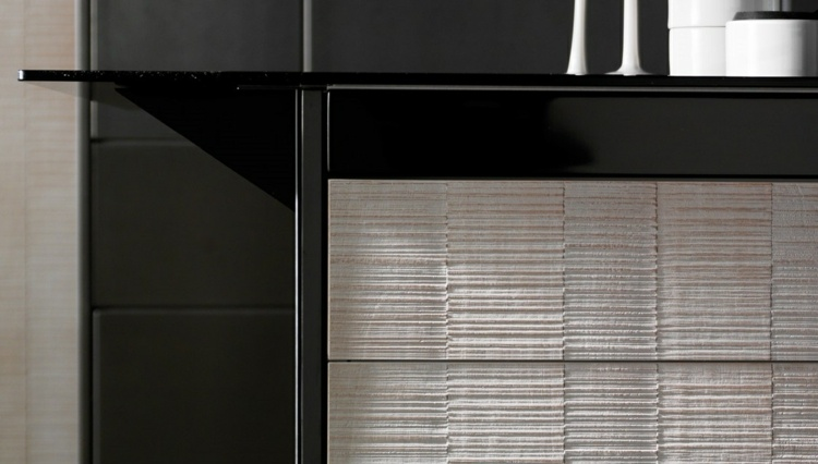 madera fondos gaveteros detalles moderno negro