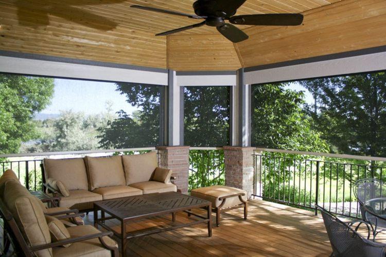 madera suelos decorado estilos balance ventilaores