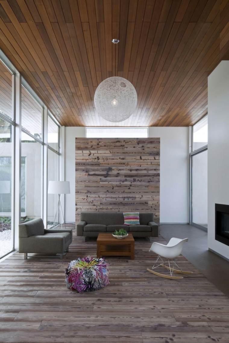 maderas rusticas diseño moderno