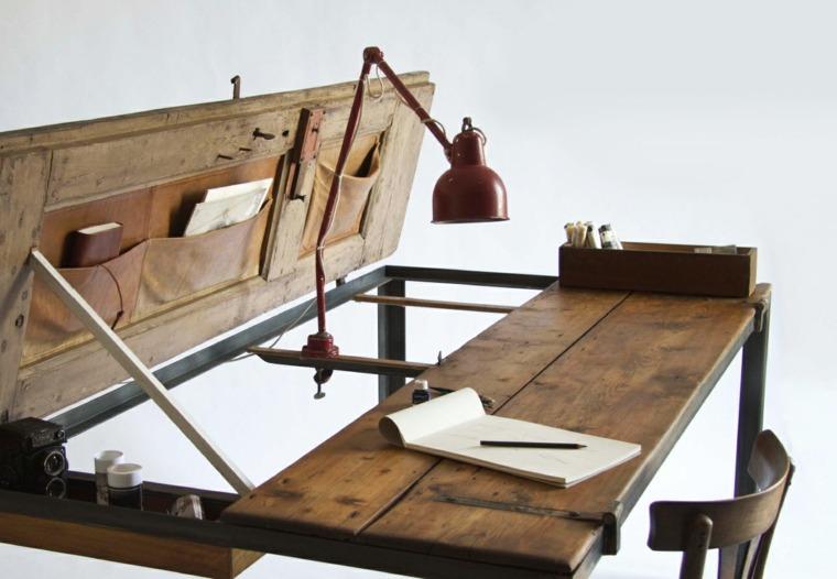 mesa escritorio estilo vintage